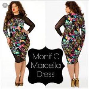 Monif C Marcella Dress Size 3X